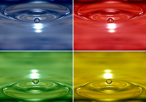 Quad Colour Droplet by rJoyceyy