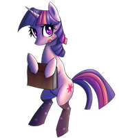 Twilight with Socks by NinjaHam