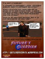 Future's Guardian Ad - Ronin Omega by djmatt2