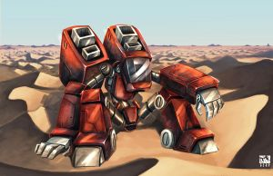 METANC: RED-03 by GERPH