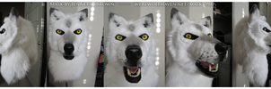 HavenWhiteWolf Mask Commission by sugarpoultry