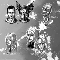 Characters of The Witcher 02 by Hizumi-Tsukasa