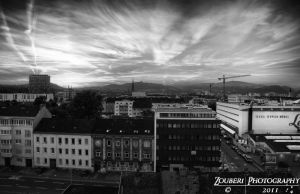 Linz cityscape HDR by Zouberi