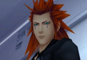 Axel's Glare... by DragonLover4Ever
