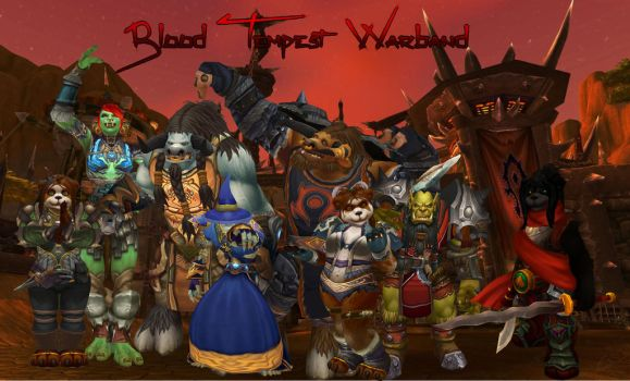 Blood Tempest Warband by Inquisitor-Rook