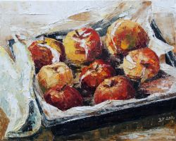 Baked Apples by BarbaraPommerenke