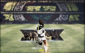 Moussa Sow Wallpaper'13 by SemihAydogdu