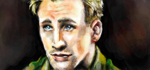 Chris Evans by lilbit075