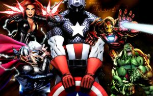 The Ultimate Avengers by X-Hoosier