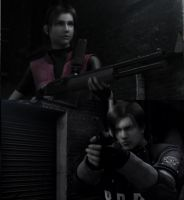 Resident Evil old times... by dragonost