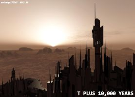 T PLUS 10,000 YEARS by archangel72367