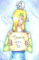 Thank you ! by Evomanaphy