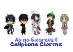 AoNoExorcist_Chibis by wanabiEPICdesigns