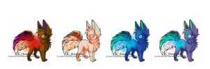 canine points adoptable [closed] by Vibakae