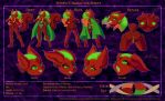 COMMISSION - Otonho Character Sheet - [Hard Cell] by scificat