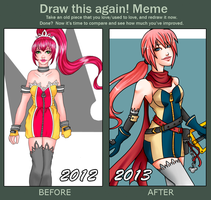 Draw this Again Meme 2012-2013 by amuupon