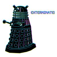 Dalek Brushes by merrypranxter