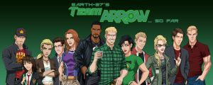 [Earth-27: Rosters] Team Arrow (So Far) by Roysovitch