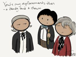 Three Doctors - One Does Not Approve by gnasler
