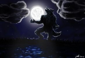 Giant werewolf by Suc-of