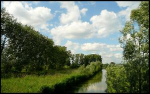 Just a ditch? Or a canal? by jchanders