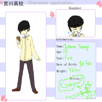 MiyagawaHigh Application by UnpopularGeek