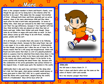 Profile: Marc by Nintendrawer