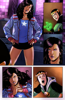 Young Avengers - Color Practice by SMachajewski