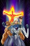Fantastic Four anime by fernandogoni