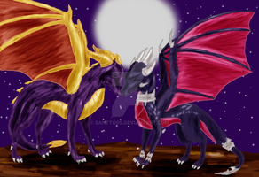 With You - Spyro and Cynder by santtoss