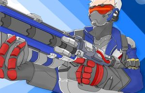 Soldier 76 by MSketchesM