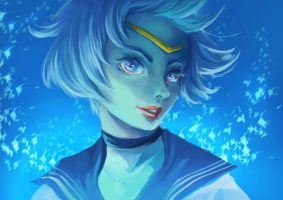 Sailor Mercury ! by cennie