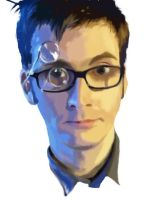 Doctor Who - David Tennant by GingaNic