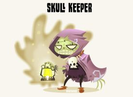 Skull Keeper by hanzthebox