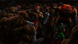 DooM - Horror of a Hundred Cyberdemons! by Finfr0sk