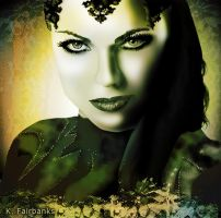 Lana Parrilla as Evil Queen (Digital Painting) by eyeqandy