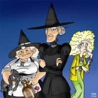 Discworld: The Witches by BahalaNa