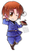 Chibi Series - N. Italy by say0ran