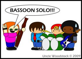 Bassoon Solo by UncleWoodstock