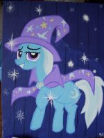 The Great and Powerful Trixie by EquestriaPaintings
