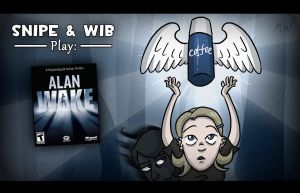 Alan Wake Title Card by wibblethefish