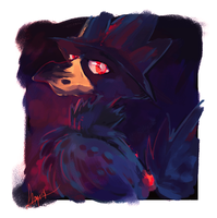 Murkrow by Endber