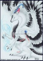 .:: Commission - White Diamond ::. by Windspirit-Aquaeris
