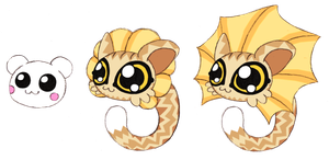 Baby Mikas by Bunni89