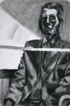 Man in Charcoal by indisaurusrex