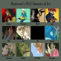 2012 Art Summary by Hootsweets
