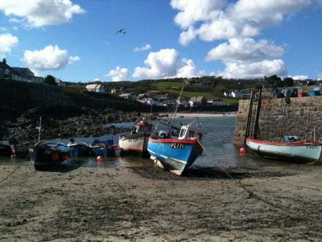 Coverack Harbour by saving-an-apocalypse