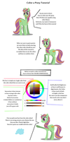 Color a Pony Tutorial by DarkKodKod