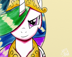 Celestia. Ready for some action. by DarkAudacity