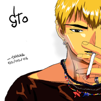 GTO - Onizuka Eikichi Colored by Shaka90